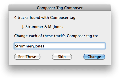 Composer Tag Composer screenshot