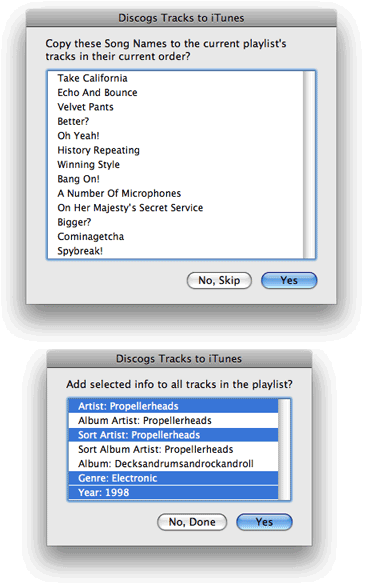 Discogs Search Kit screenshot