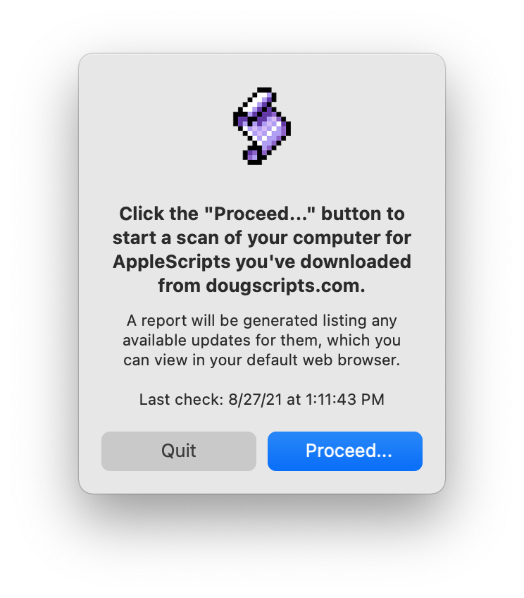Doug's AppleScripts » dougscripts com