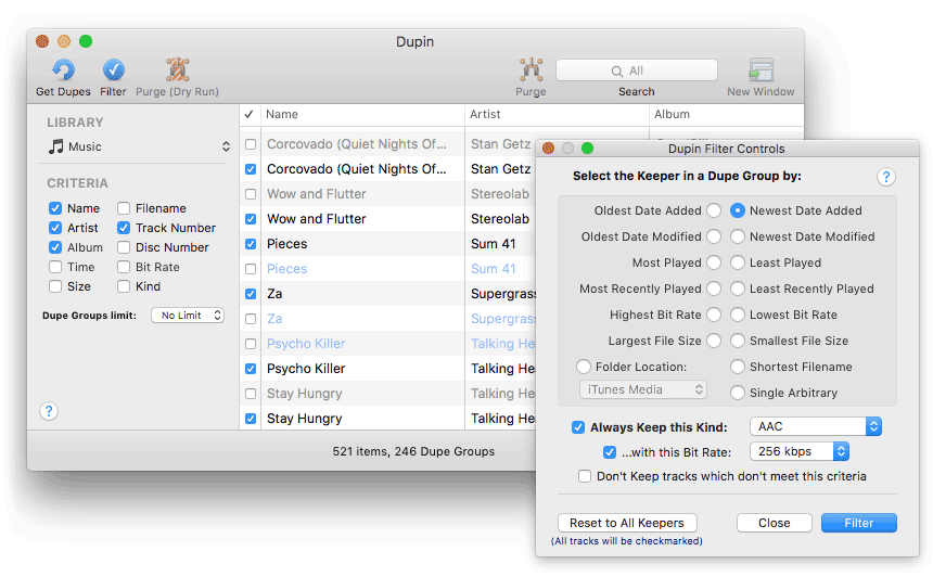 Itunes match making duplicates