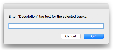 Enter Description Text for Selected in action