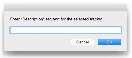 Enter Description Text for Selected
