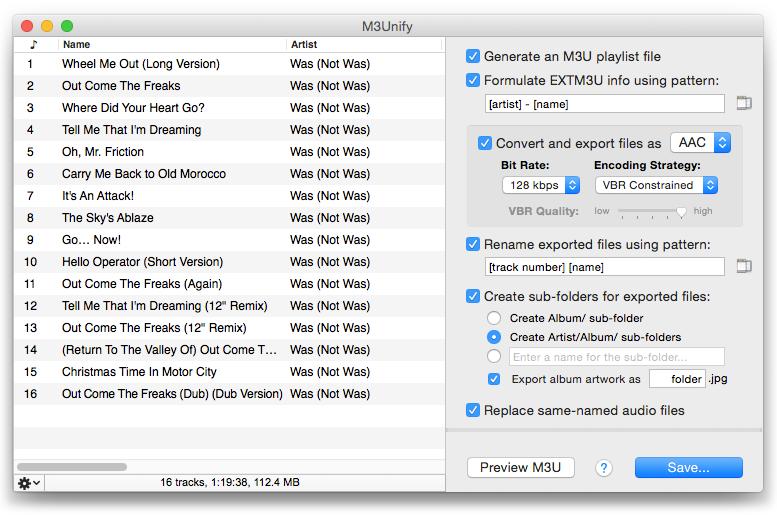 M3Unify screenshot