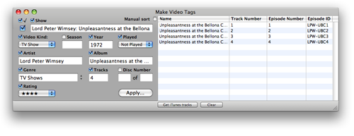 Make Video Tags in action