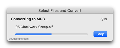 Select Files and Convert