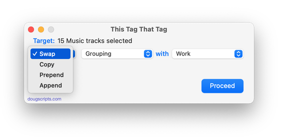 This Tag That Tag in action