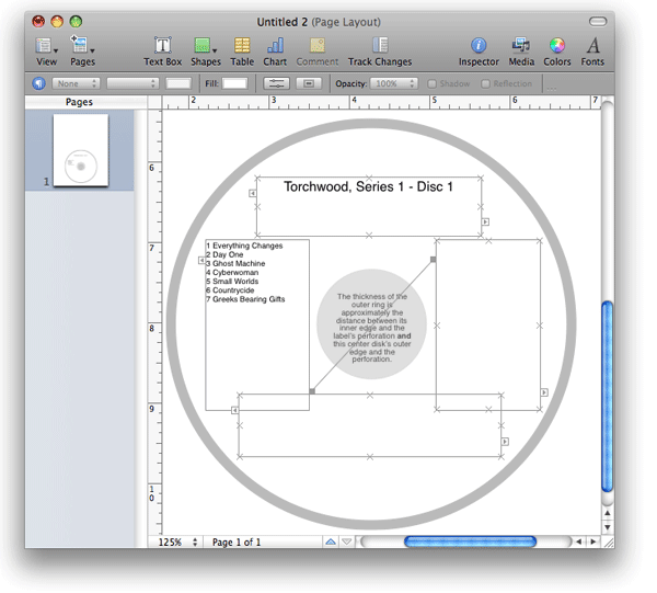doug's applescripts for itunes » pages cd label v2.0 » official, Powerpoint templates