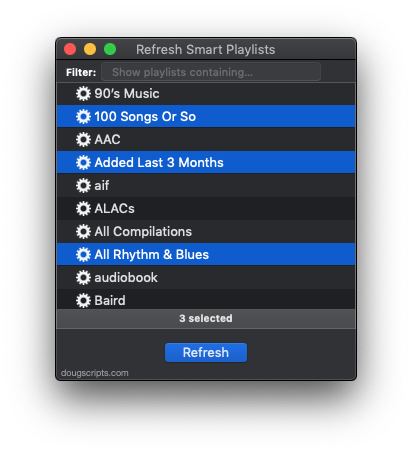 Refresh Smart Playlists