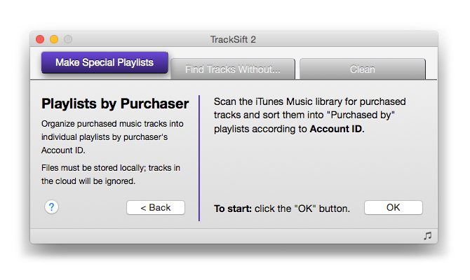 Playlists by Purchaser