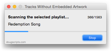 Tracks Without Embedded Artwork